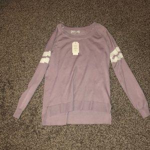 Lilac Lightweight Sweater-Medium-NWT From Macy's